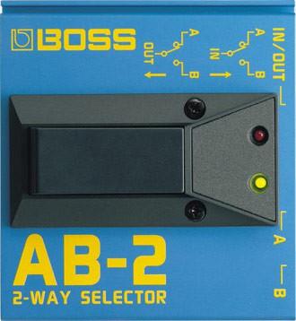 Pedal Boss AB-2 Seletor de 2 Canais