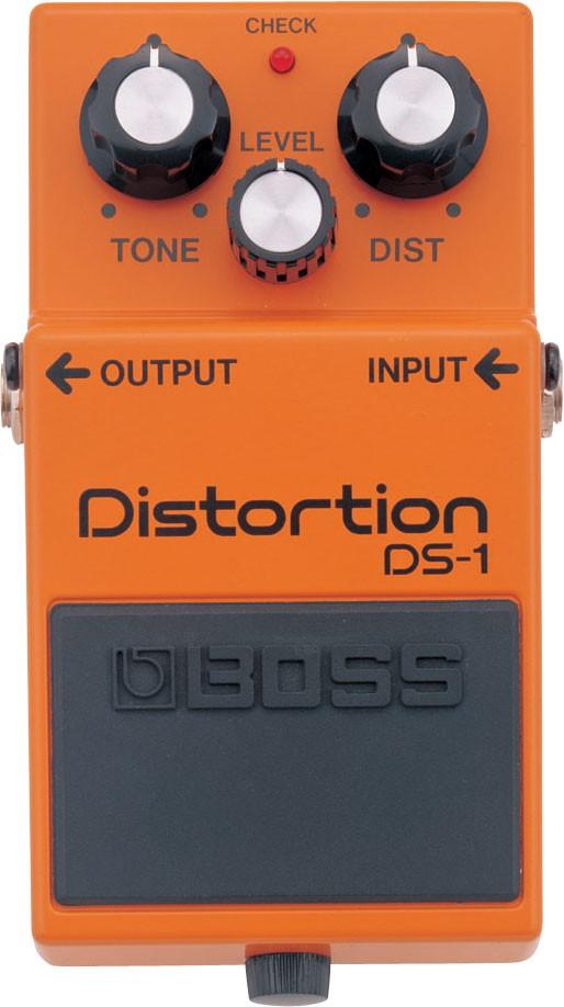 Pedal Boss para Guitarra DS-1 Distortion