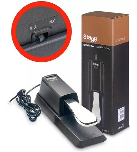 Pedal Sustain Stagg Susped10 Universal