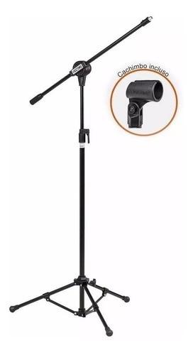 Pedestal Vector Pmv100 de Microfone Reforçado Com Cachimbo
