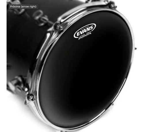 Pele Caixa Evans Hidraulica 14 Tt14chr Preta Black Chrome