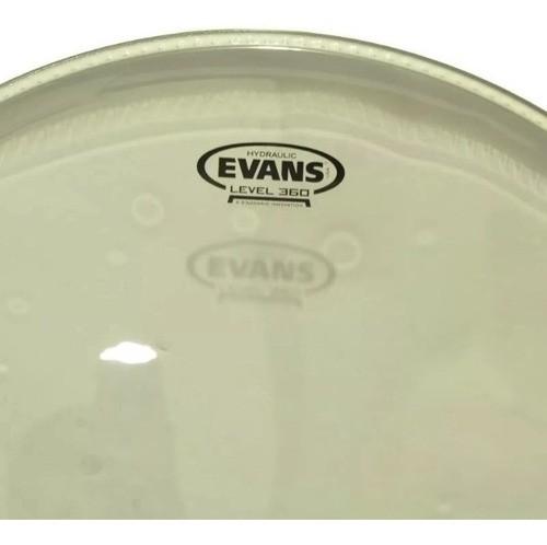 Pele Evans Para Tom 16 Polegadas Transparente Hyd Tt16hg