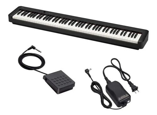 Piano Casio Digital 88 Teclas Cdp-s150 Sensitivo Com Base Cs-46P