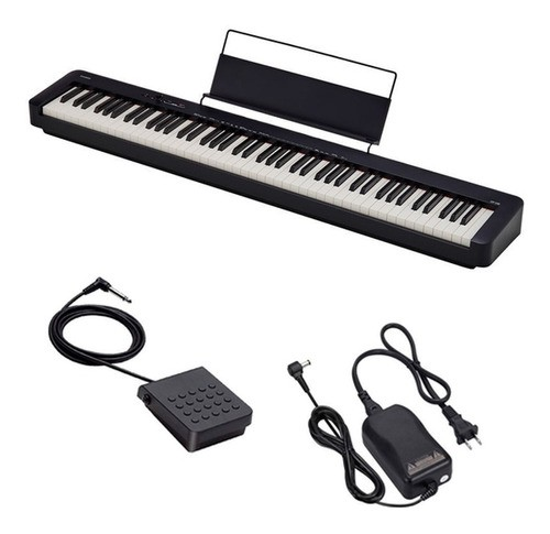 Piano Digital Casio Cdp-s100 Bk Stage Digital 88 Teclas Sensitivas