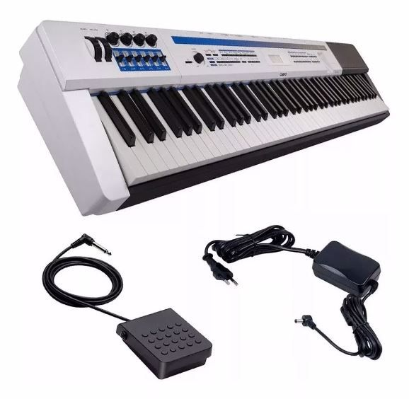 Piano Casio Digital Privia Px-5s Pro We 88 Pedal E Fonte
