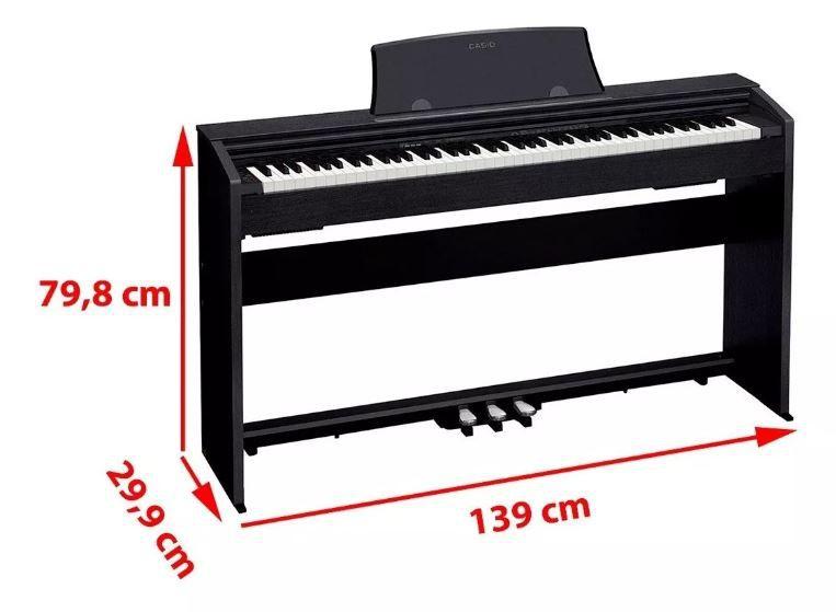 Piano Digital Casio Px770 Preto 88 Teclas