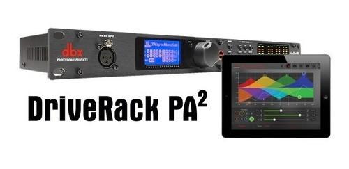 Processador de Áudio Dbx Driverack Pa2 - 110v
