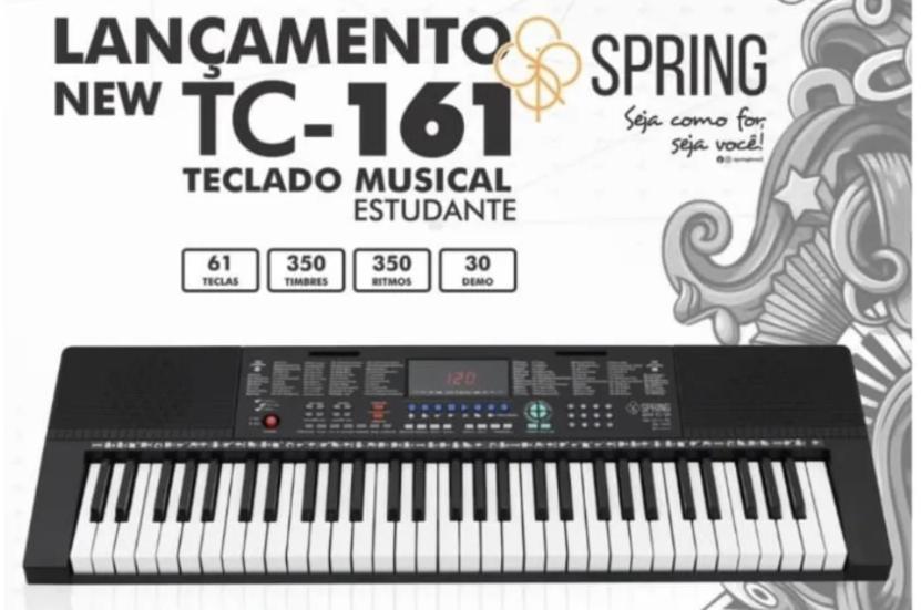 Teclado Estudante Spring Tc-161