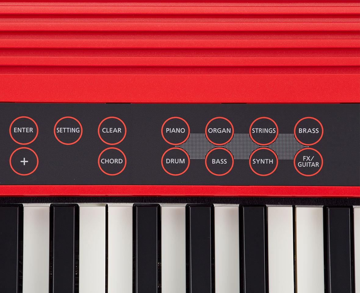 Teclado Roland Digital Go Keys GO-61K