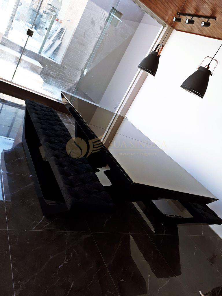 Mesa de Sinuca e Jantar Topázio