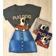 T-SHIRT PUG DOG