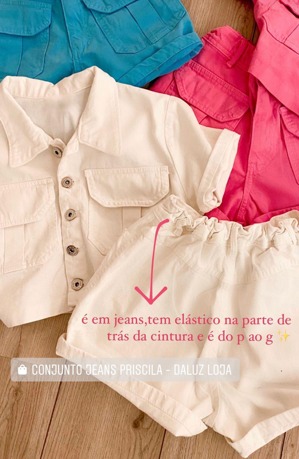 Conjunto Jeans Priscila