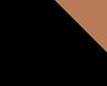 Preto (Parte de Baixo Preta com detalhe Marrom)