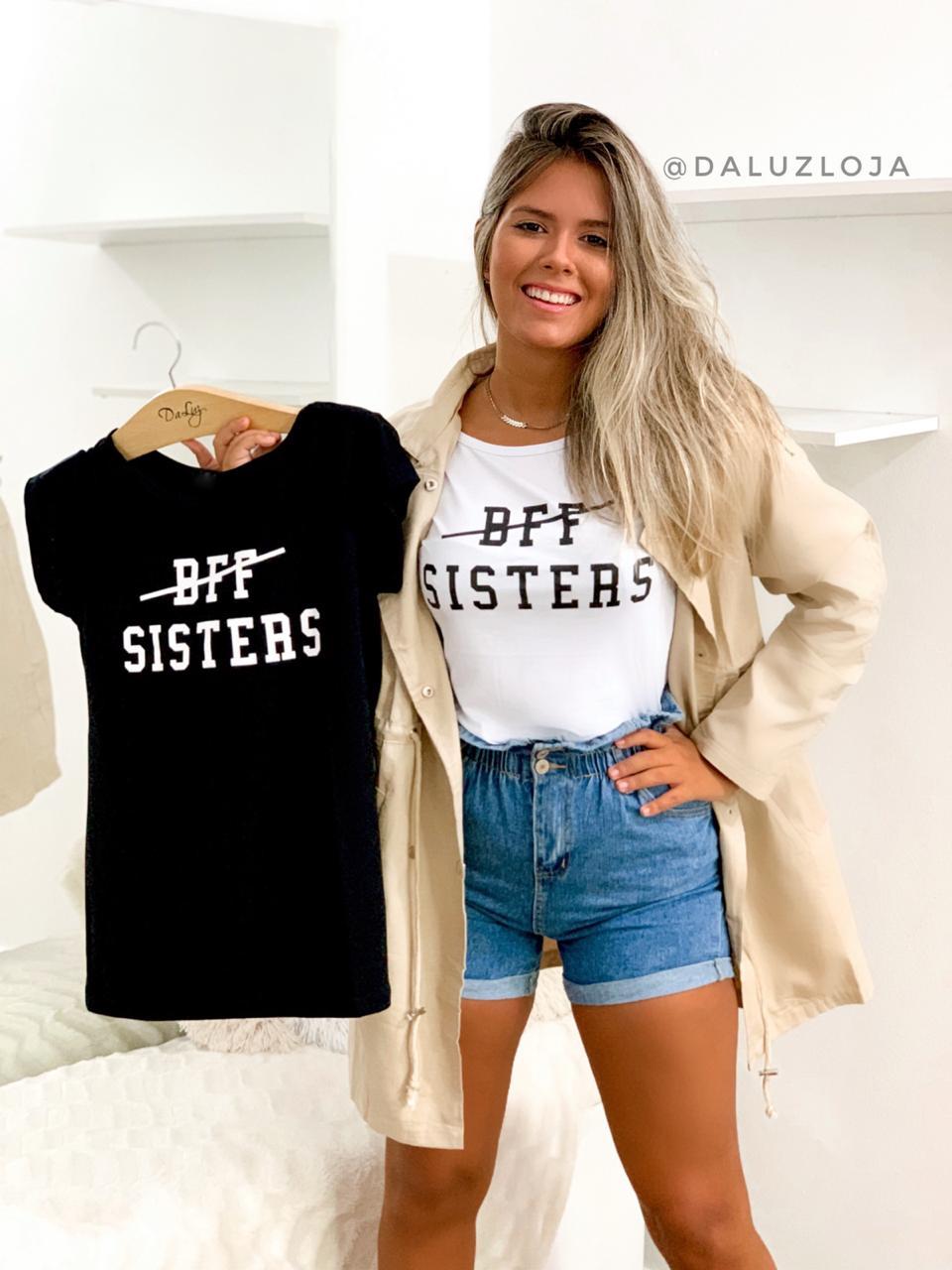 T'SHIRT BFF SISTERS