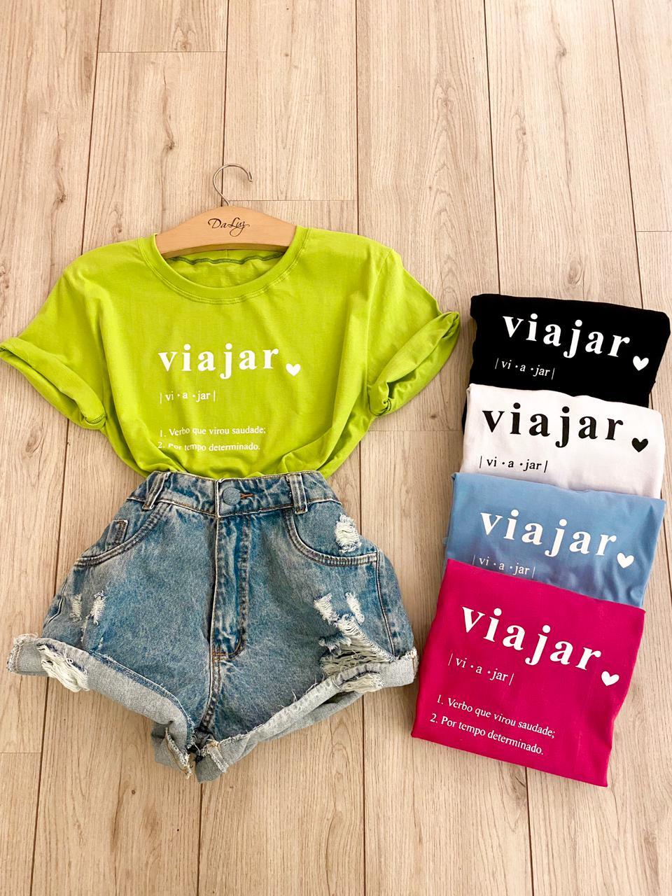 """T-shirt """"Viajar"""""""