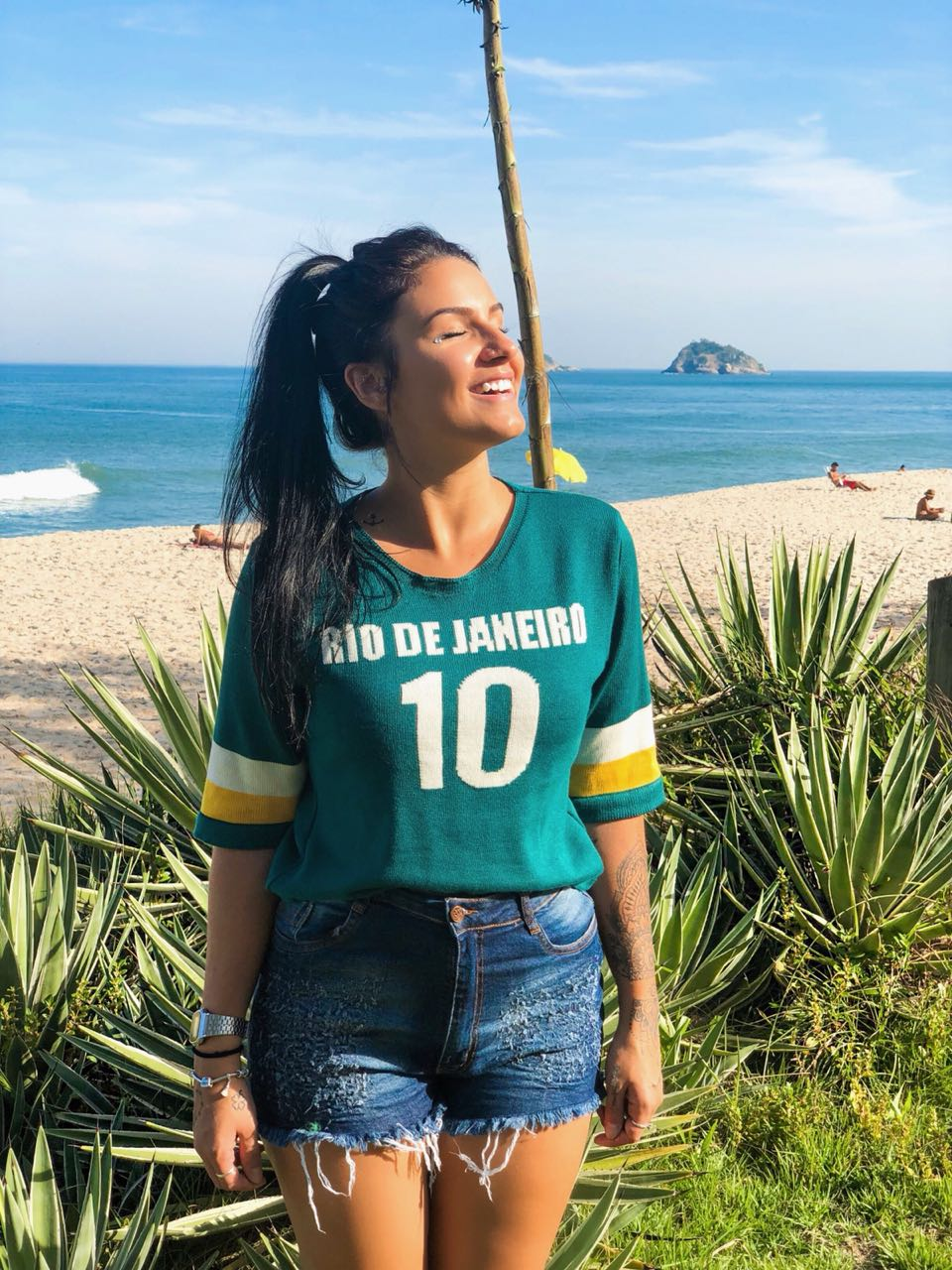 """TRICOT """"RIO DE JANEIRO 10"""" BRASIL"""