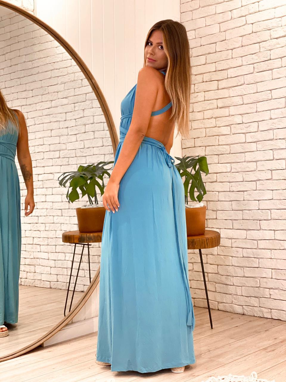 Vestido Fenda