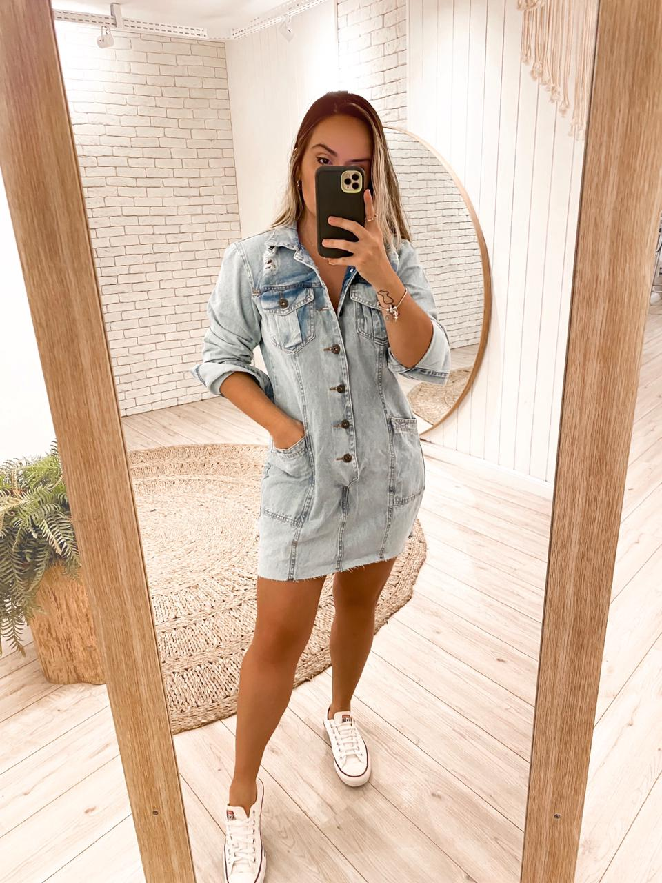 Vestido Jeans Clarice