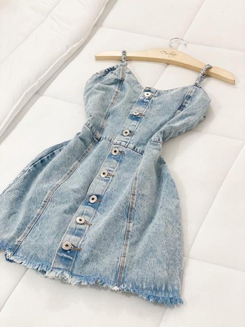{ Vestido Jeans Laura }