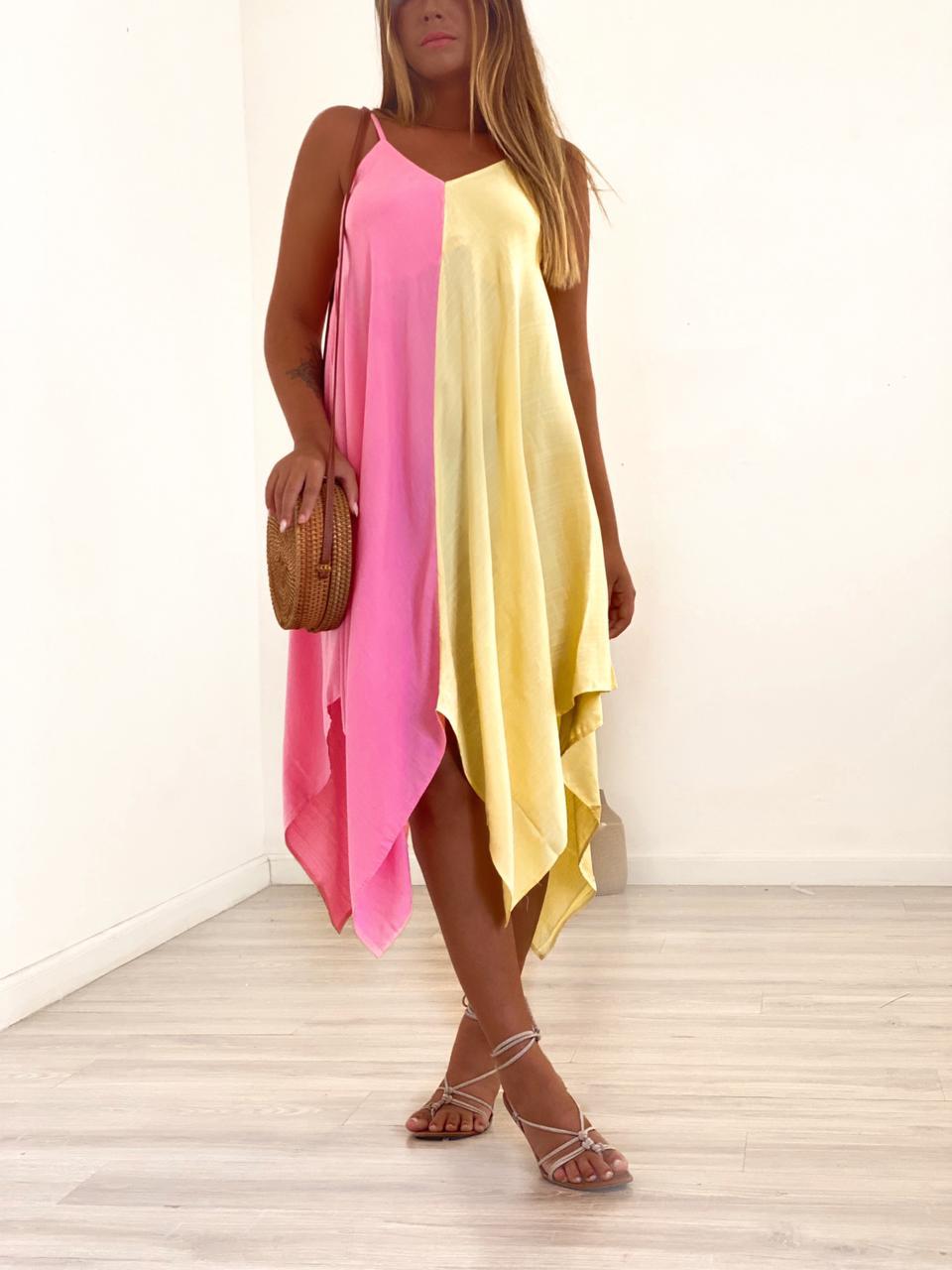 Vestido Jessy Bicolor