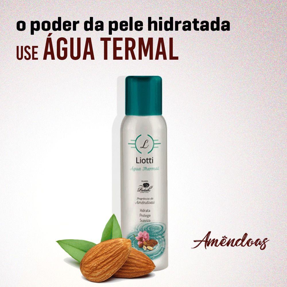 KIT 3 ÁGUAS THERMAIS - 3 AMÊNDOAS / AEROSOL
