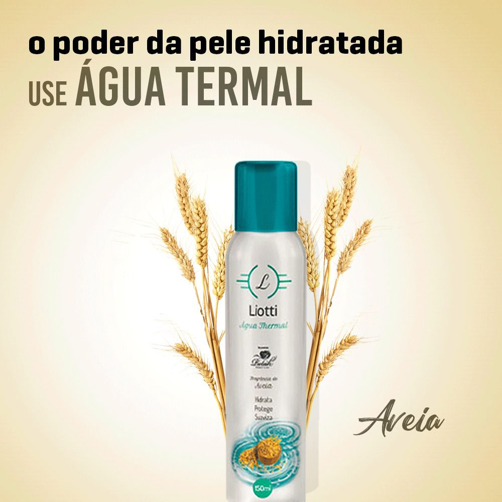 Liotti Água Thermal Spray - Aveia / 150ml