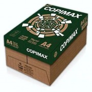 Caixa Papel Sulfite Branco Copimax A-4 75g Caixa com 10uni Resma 500 Folhas