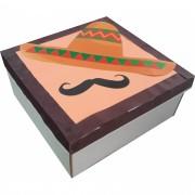 Caixa Para Presente - Chapeu Mexicano
