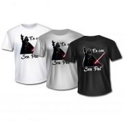Camisa Personalizada Geek - Darth Vader - Eu sou seu pai!