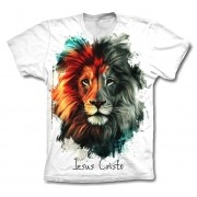 Camisa Personalizada - Leão - Jesus Cristo