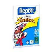 Chamequinho Branco A4 100 Folhas Suzano Report
