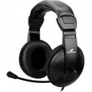 Fone de Ouvido Headset com Microfone Fortrek HSL102 Preto - 62889