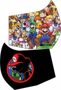 Mascara de Proteção - Modelo Ninja ( Bico de Pato ) - Mario Bros