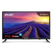 Smart TV Multilaser - Tela 43 Pol. Full Hd, Wifi, Hdmi, Usb + Conversor Digital - TL004