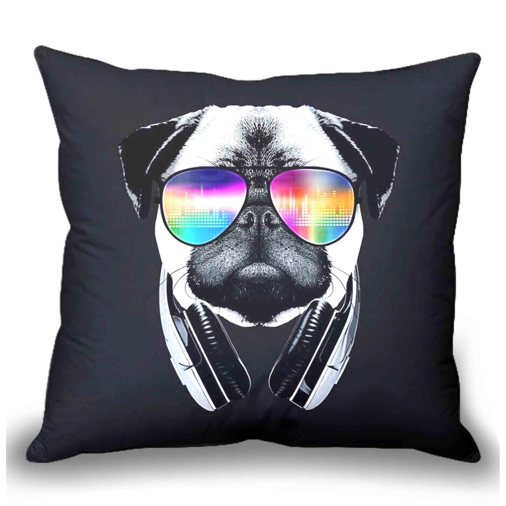 Almofada Personalizada - Dog Music