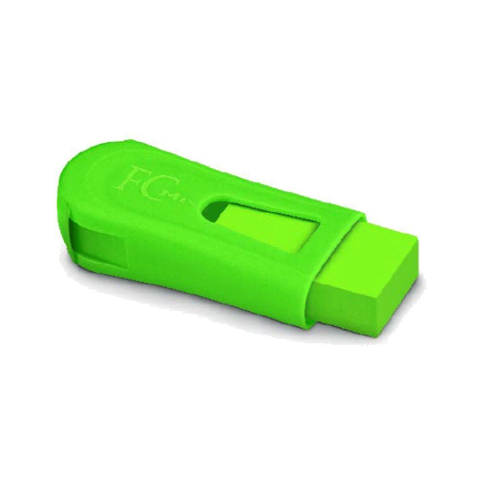 Borracha Com Apontador  Fc Mix Verde - Faber-castell