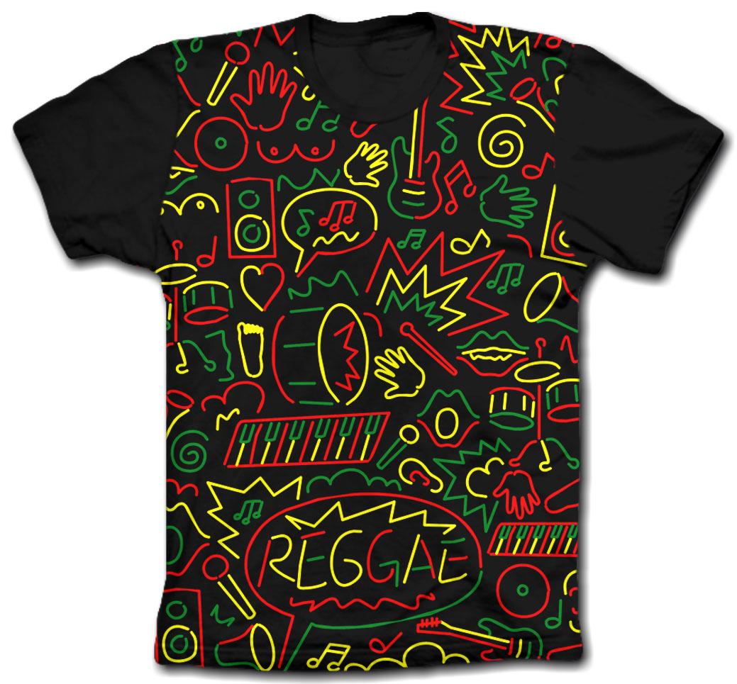 Camisa Personalizada - Dia Nacional do Reggae 11/05