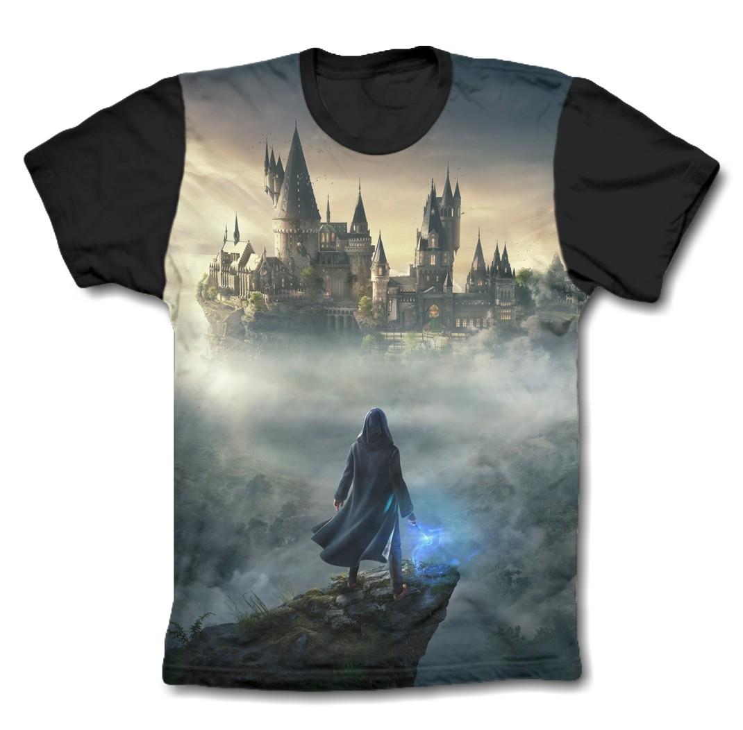 Camisa Personalizada - Bruxo Hogwarts