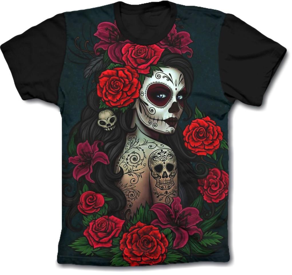 Camisa Personalizada - Catrina