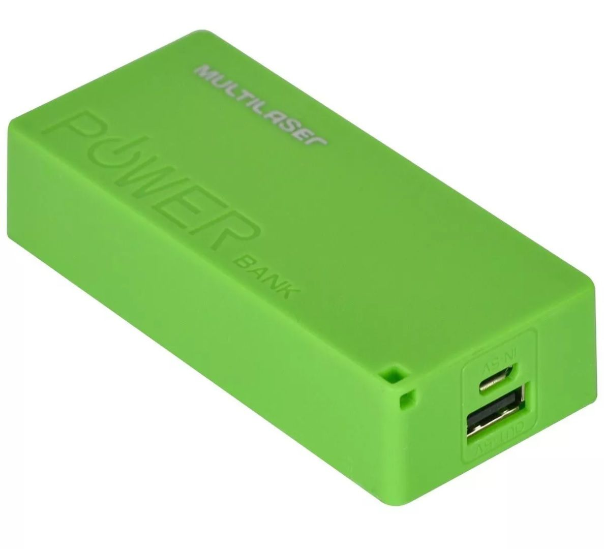 CARREGADOR PORTÁTIL POWER BANK 4000mAh ULTRA RÁPIDO - MULTILASER - CB097