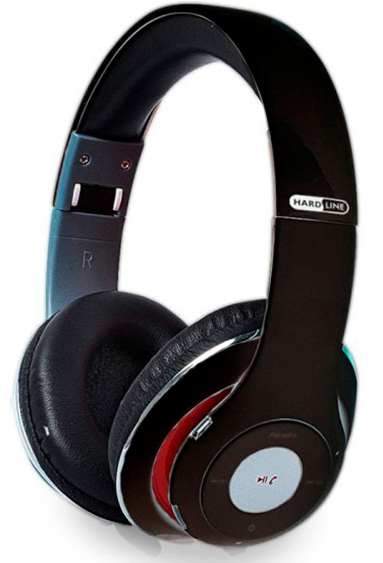 Fone de Ouvido Bluetooth com Microfone Hardline TM-10 com Rádio FM e SD