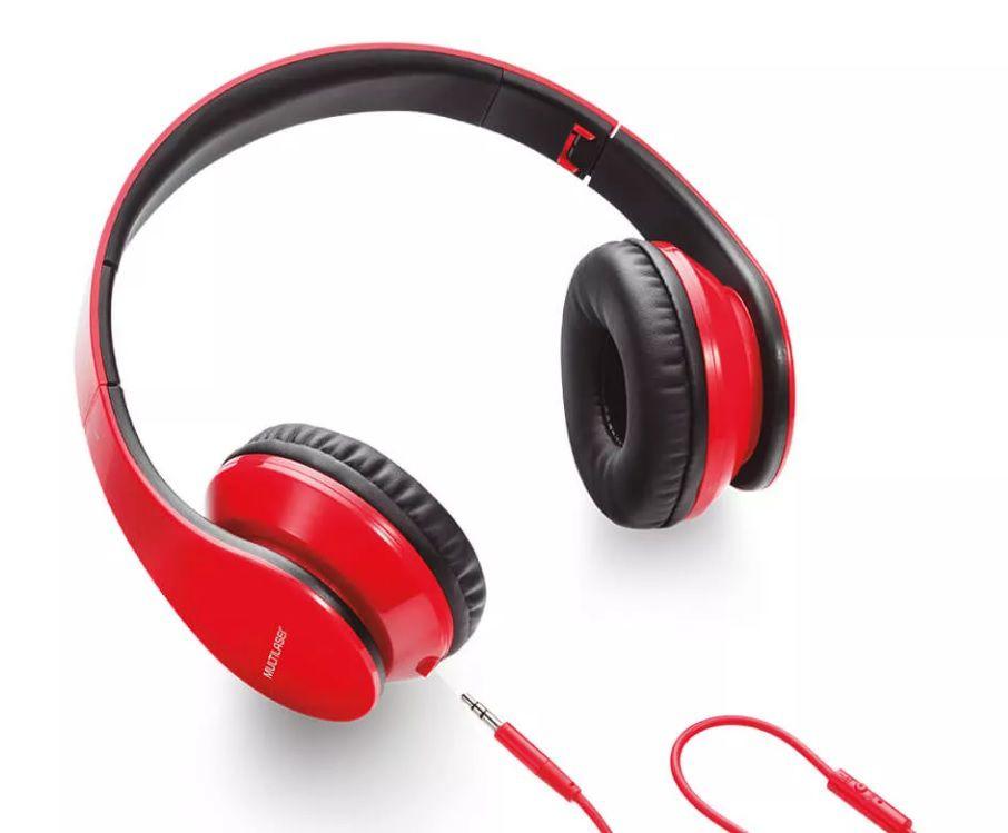 Fone de Ouvido Multilaser com Microfone para Celular P2 - PH112