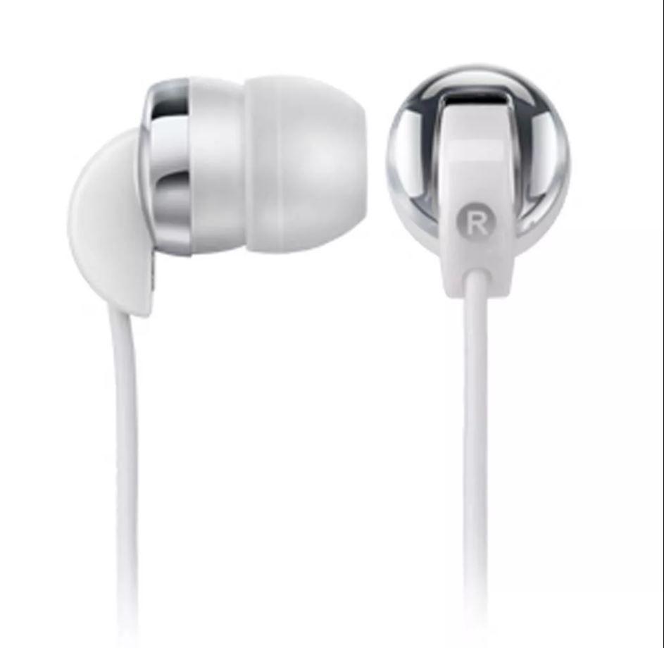 Fone de Ouvido Multilaser Plug P2 Branco - PH017