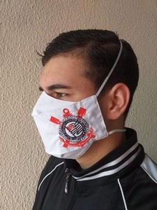 Mascara de Proteção - Modelo 3D - Corinthans