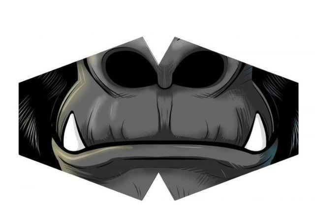 Máscara de Proteção - Modelo Anatômico - Boca Gorila