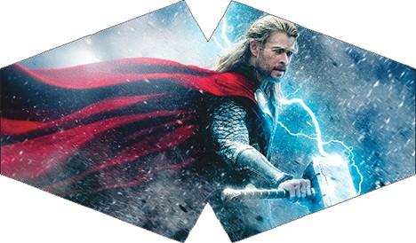 Máscara de Proteção - Modelo Anatômico - Thor