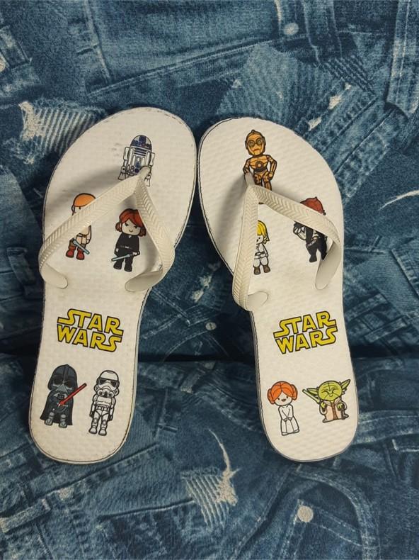 Sandália Personalizada - Star Wars