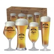 Coleção Sommelier de Cerveja 4 Copos Ruvolo