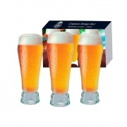 Conjunto Copo  Cerveja Strange  3 peças 420ml  - Ruvolo 380331