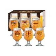 Conjunto Taças Happy Hour 6 Peças Beer Master
